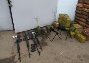 кулемети та снайперські гвинтівки