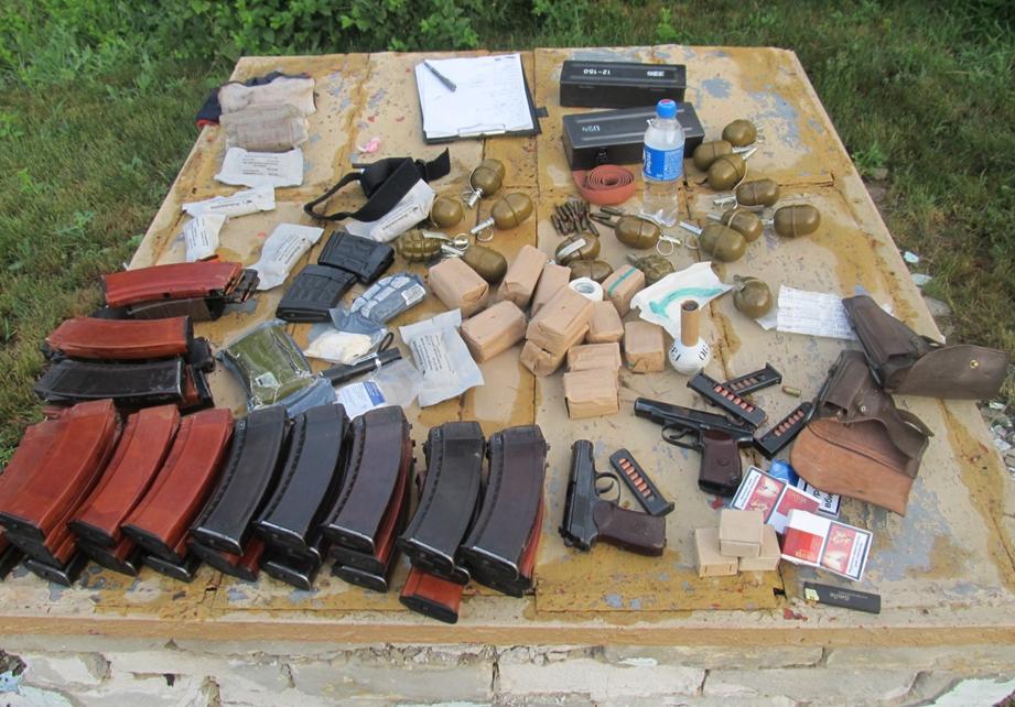 кулі та гранати