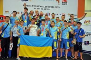 Збірна України з Таїландського боксу