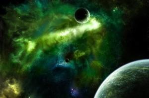 кислотна хмара в космосі