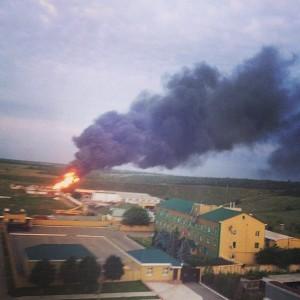 обстріл Луганського прикордонного загону