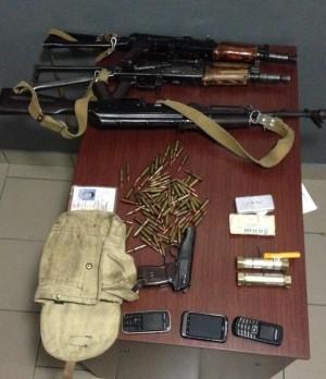 зброя і вибухівка терористів