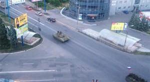 Т-64БВ в макіївці