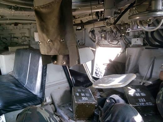 БТР-80 в середині