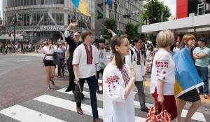мегамарш вишиванок Токіо