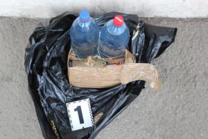В Одесі міліція вилучила саморобний вибуховий пристрій
