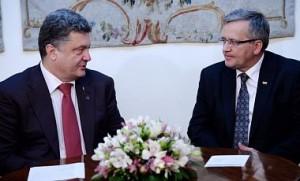 Порошенко і Коморовський