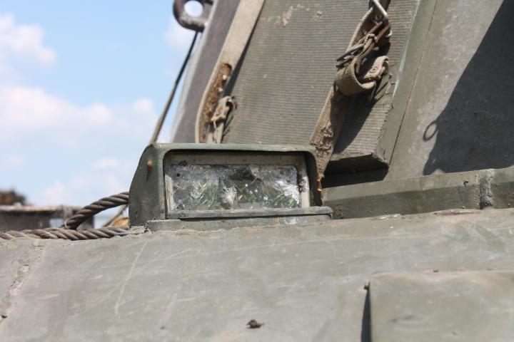 пошкоджена військова техніка