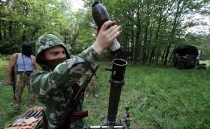 мінометний обстріл терористи