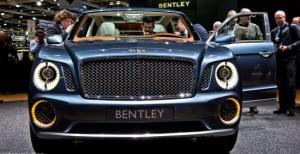 позашляховик Bentley