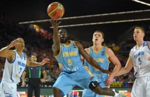 Україна - Фінляндія баскетбол