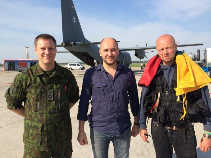 Гуманітарний вантаж з Литви