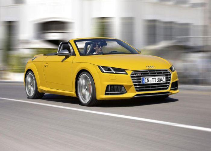 Audi TTS Roadster 2015