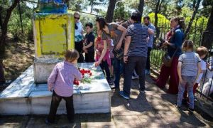 Литва могили солдатів радянських