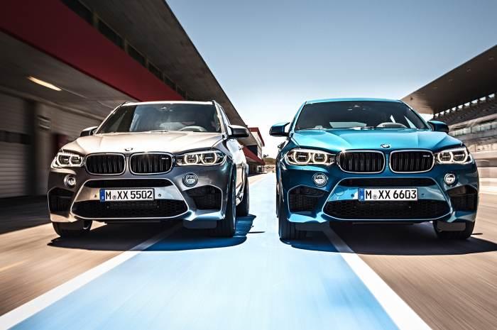 BMW X5 M і BMW X6 M