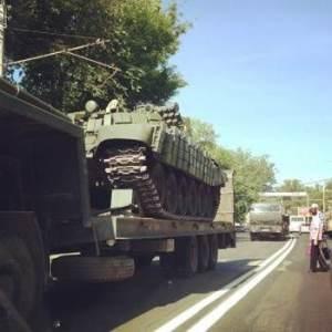 перекидання військової техніки