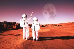 астронавти марс