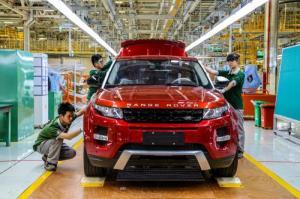 Jaguar Land Rover китай