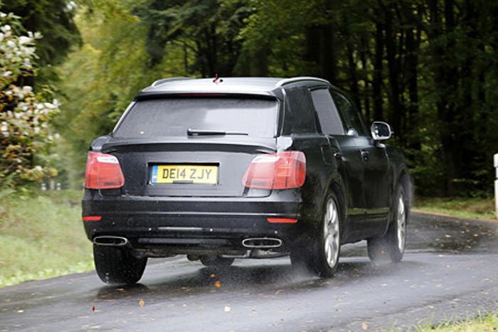Bentley позашляховик SUV