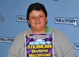 анна родрігес виграла в лотерею