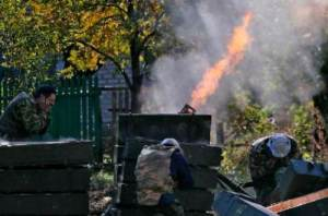 обстріл з мінометів кримське