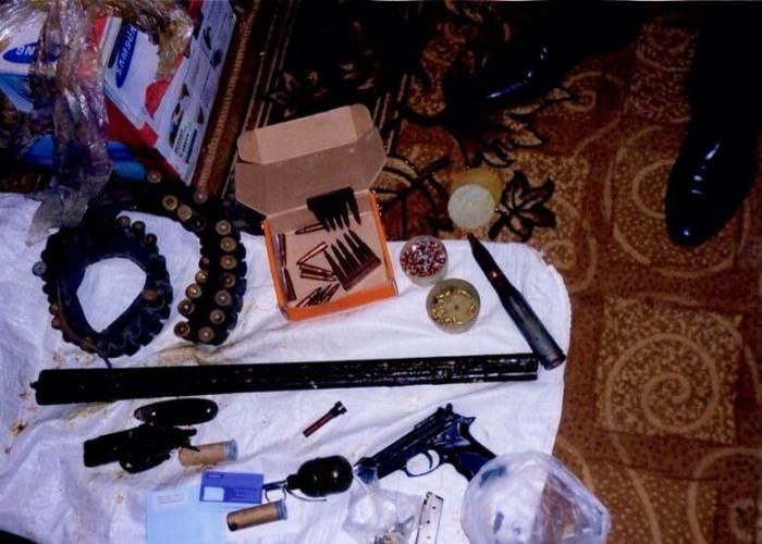 зброя та вибухівка