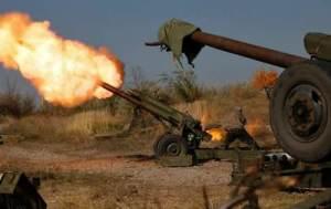 обстріл артилерія ато