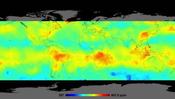 карта парникових газів
