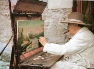 Картини Вінстона Черчілля