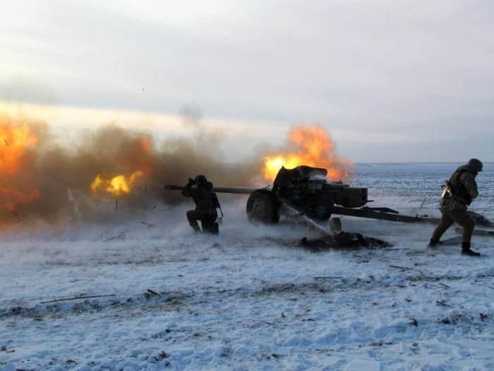 артилерія постріл