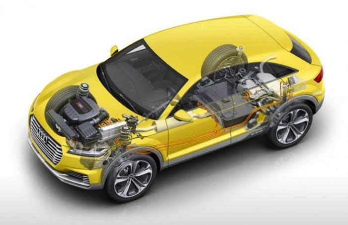 Audi Q7 дизель гібрид