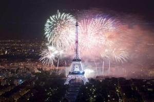 париж новий рік