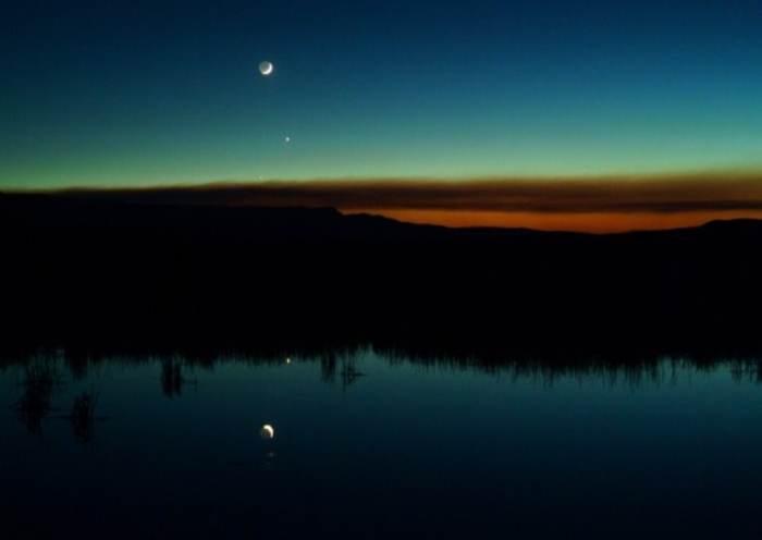 місяць венера меркурій