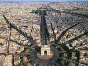 париж з безпілотника