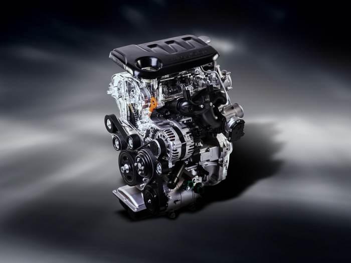 1,0 T-GDI мотор kia