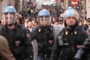 італія страйк поліцейських