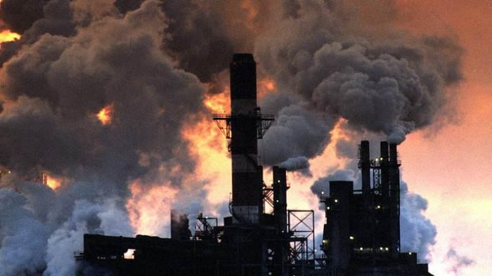 забруднене повітря