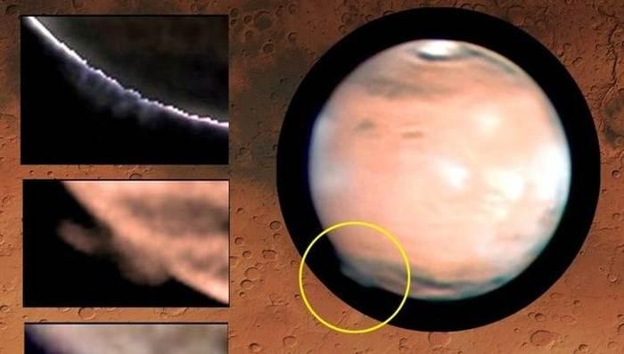 хмара на марсі