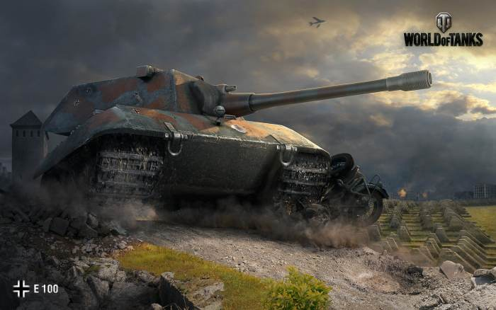 World of Tanks E 100