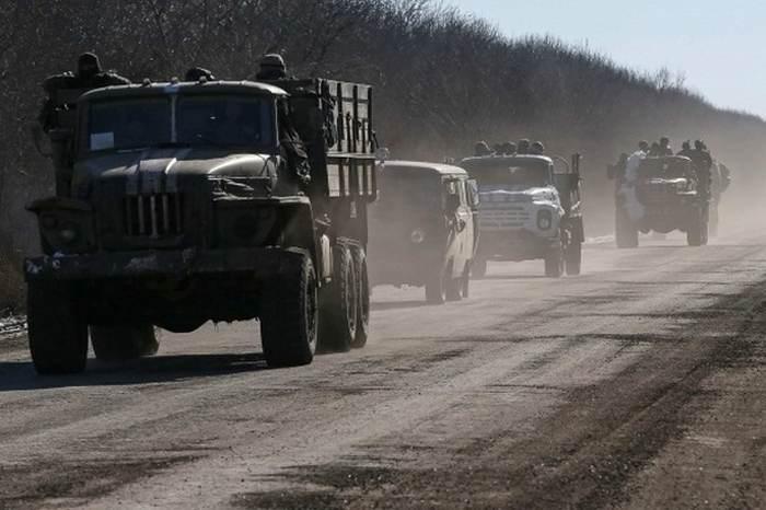 вихід українських війсь дебальцеве
