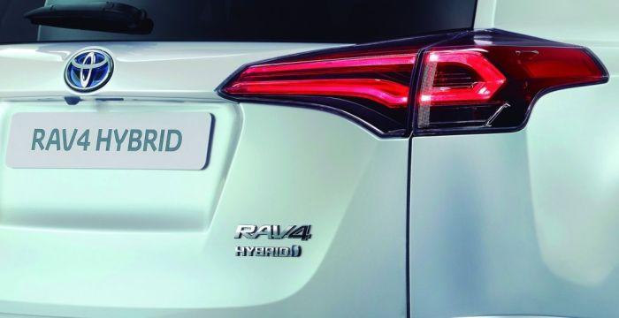 Toyota RAV4 гібрид