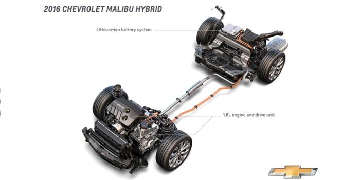 Chevrolet Malibu gibrid