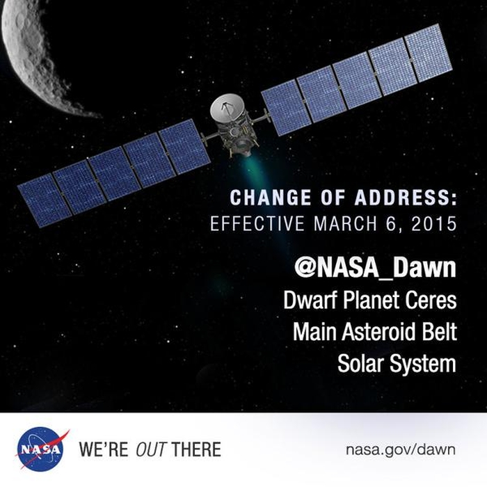 космічна станція Dawn церера