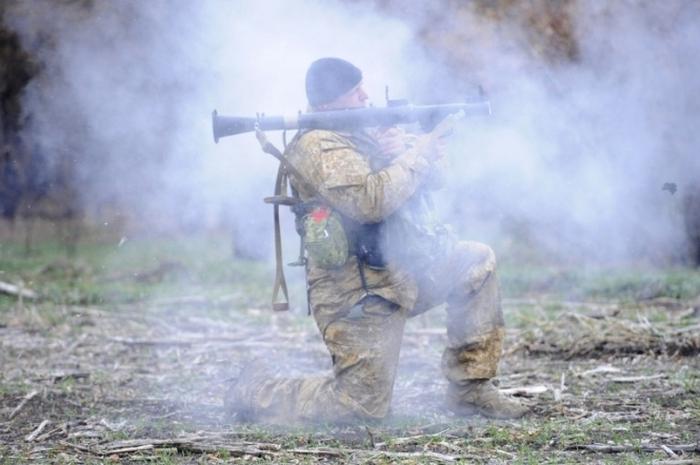 ато гранатомет обстріл