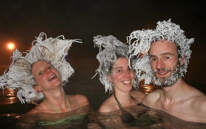 конкурс замерзлого волосся канада
