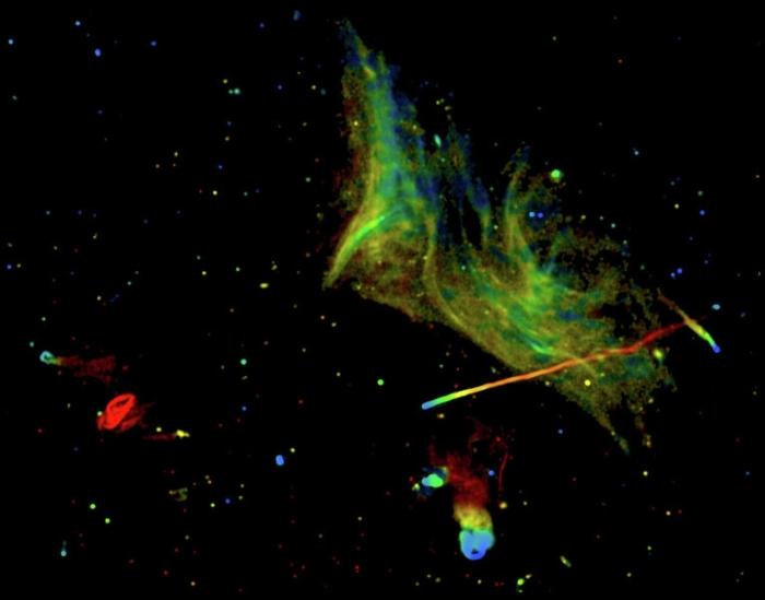 скупчення галактик Abell 2256