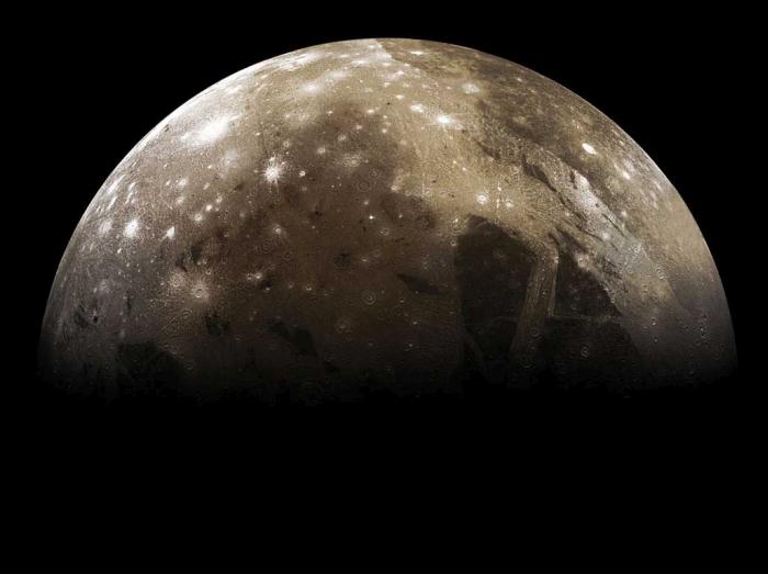 спутник Юпітера Ганімед
