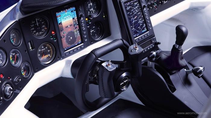 AeroMobil літаючий автомобіль