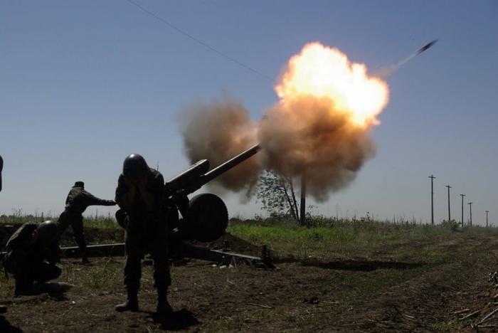 артилерія вогонь