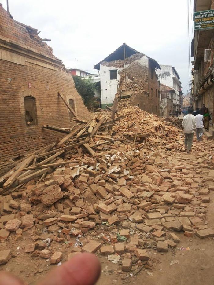 наслідки землетрусу непал